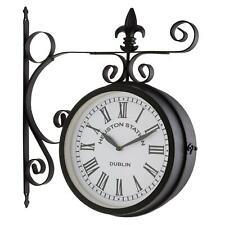 Horloge de Gare Type ancien Blumfeldt montage Mur Colonne chiffres Romains 23cm