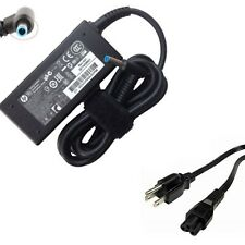 Genuine HP 45W Blue Tip Laptop A/C Adapter Power Supply Charger 19.5V 2.31A
