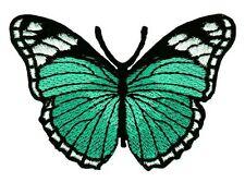 bg67 Schmetterling Beige Butterfly Kinder Aufnäher Applikation Bügelbild Falter