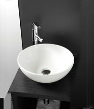 Cloakroom Basin Selection | White Ceramic Wall Hung & Countertop Bathroom Sink