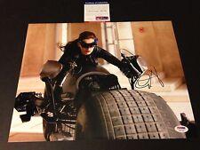 Anne Hathaway Catwoman Batman Signed Auto 11x14 PHOTO PSA/DNA COA