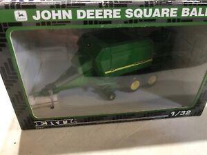 Vintage Ertl 1/32 John Deere 100 Large  Square Baler - NIB Farm Toy