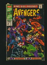 The Avengers King-Size Special #2, 4.5/VG+