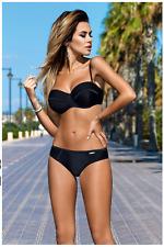 Neuf XS/S Bikini Mega push-up noir en soutien-gorge Haute Qualité GABBIANO Brand