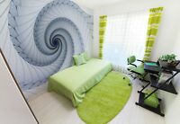 WALLPAPER mural photo Abstract spiral giant wall decor paper poster for bedroom