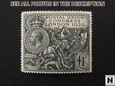 NobleSpirit No Reserve (Rb) Exciting Great Britain No. 209 Mh Vf £1 = $800 Cv
