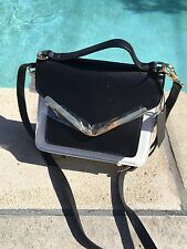 NWT Maison Du Sac Mini Bag Black And White Purse