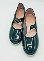 Capezio Shiny Tap Shoes Size 8 Teletone Tap USA Adult Tapping Clogging Irish
