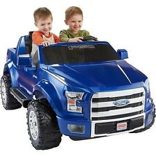 Fisher-Price Power Wheels Ford F-150 12-Volt Battery Powered Ride-On Blue Car