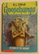 Goosebumps  #23 Return Of The Mummy   By R.L.Stine  P/B Scholastic FREE POST
