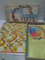 Vintage CHUTES AND LADDERS Board GAME 1972 Milton Bradley 4600 Kids Children