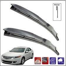 HONDA ACCORD VIII SALOON 2008-ON Set of 2 windscreen wiper blades HYBRID HOOK