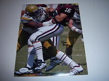 VANCE WALKER GEORGIA TECH YELLOW JACKETS JSA/HOLO SIGNED 8X10 PHOTO