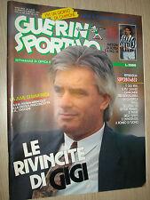 RIVISTA GUERIN SPORTIVO GS 1991 ANNO LXXIX N°5(830) LE RIVINCITE DI GIGI RIVA