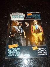 DOCTOR WHO MAGAZINE Monthly - No 101 - Date 06/1985 - UK Paper Comic
