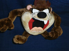 "7"" stuffed Warner Bros. Applause plush Taz Tasmanian Devil 1994"