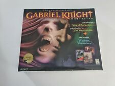 Gabriel Knight: Sins of the Fathers 1998 Sierra Rare Limited Edition Box CD