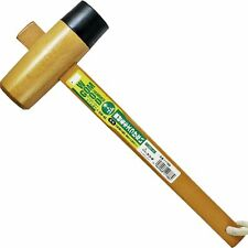 Japanese Sun UP Carpenter Wood & Rubber Hammer Mallet Kiduchi Tool 45mm GW-45