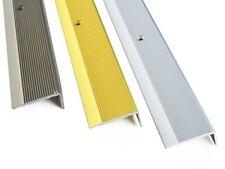 35x15mm 1M  Anodised Aluminium Stair Nosing Edge Trim Step Nose Edging Nosings