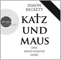 JOHANNES STECK - KATZ UND MAUS.EINE DAVID HUNTER STORY  CD NEU