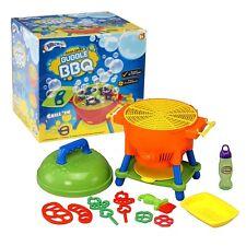 BARBECUE per bambini macchina delle bolle che soffia Bambini Estate Giardino Giocattolo & Liquido MIX 050146