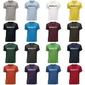 STUFF4 Men's Round Neck T-Shirt/Car Life / Love Mazda/CS
