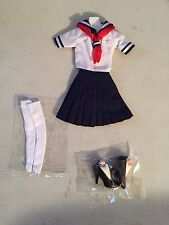 Triad Toys School Girl 2.0 Female Outfit Set 1/6th Sixth Scale Accessory