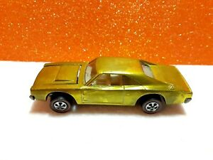 1969 Hot Wheels Redline (Yellow) Custom  Charger: Near Mint/Mint Loose BP US