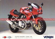 VOXAN 1000 V2 Café Racer Carte Postale Moto Motorcycle Postcard