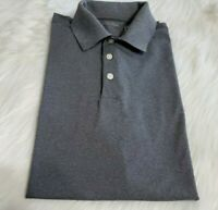 Walter Hagen Size Medium GOLF POLO SHIRT Short Sleeve Gray Grey Soft Q-16