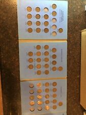 Partial Canadian Small Cent Album 1920 To Present 49 Coins