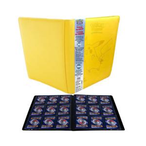 Pokémon Portfolio Pro-Binder Similicuir - Pikachu - A4 - 9 Cases - 360 cartes