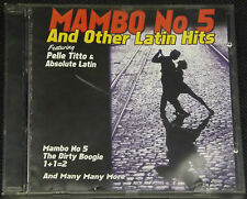 Pelle Titto Absolute Latin - Mambo No. 5 And Other Latin Hits CD - Dirty Boogie