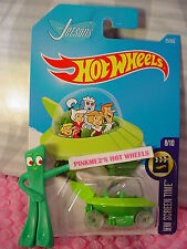 THE JETSONS #25✰Green;Sublime;pr5 clear✰Screen Time✰2017 i Hot Wheels Case B/C