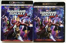 MARVEL GUARDIANS OF THE GALAXY VOL 2 4K ULTRA HD BLU RAY + SLIPCOVER & POSTER