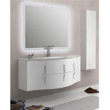 Mobile da Arredo per Bagno Sting 138 con lavabo in 4 colori componibile moderno