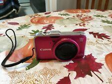 Canon Powershot SX230 HS 12.1MP 14X ZOOM Digital Camera Pink