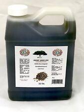 Organic 32 OZ 100% PURE  HEMP SEED OIL  UNREFINED COLD PRESS hemp OIL