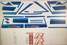 Suzuki GSXR750G GSX-R750G restauración Decal Set 1986