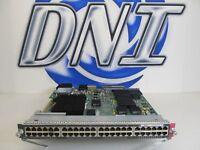 Cisco WS-X6748-GE-TX 48-Port RJ-45 10/100/1000 WS-F6700-CFC Daughter Card JWA