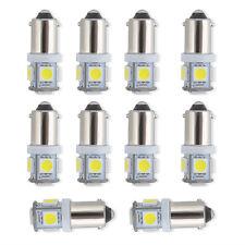10 Pcs T11 BA9S 5050 SMD 5-LED Car Bulb Lamp Light Super Bright White 12V New