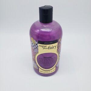 Philosophy Sugar Plum Fairy 3 in 1 Shampoo Shower Gel Bubble Bath 16oz NEW