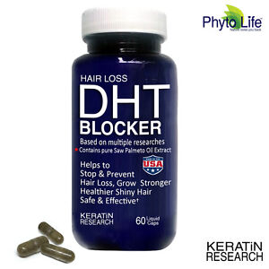 Hair Loss DHT BLOCKER with Pure Saw Palmetto Oil Extract All Natural Made In USA