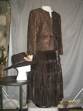 Victorian Dress Women's Edwardian Costume Civil War Style Reenactment Western