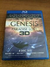 New listing GENESIS PARADISE LOST 3D 4 disk set  Blu-Ray/DVD Used