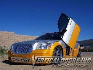 Dodge Magnum 2004-2008  BOLT ON Lambo Vertical Door kit  By Vertical Doors INC