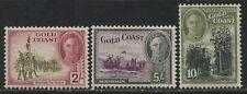 Gold Coast KGVI 1948 2/ to 10/ mint o.g.