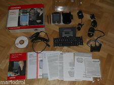 PDA COMPAQ IPAQ 3970 BLUETOOTH + TECLADO, EN CAJA Y ACCESORIOS-(2).