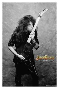 Original Guitar Kiss Poster Signed by Jason 11x17inches