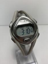Timex Ironman Triathlon Women's Watch Digital Alarm Chrono 50 Lap White Sleek